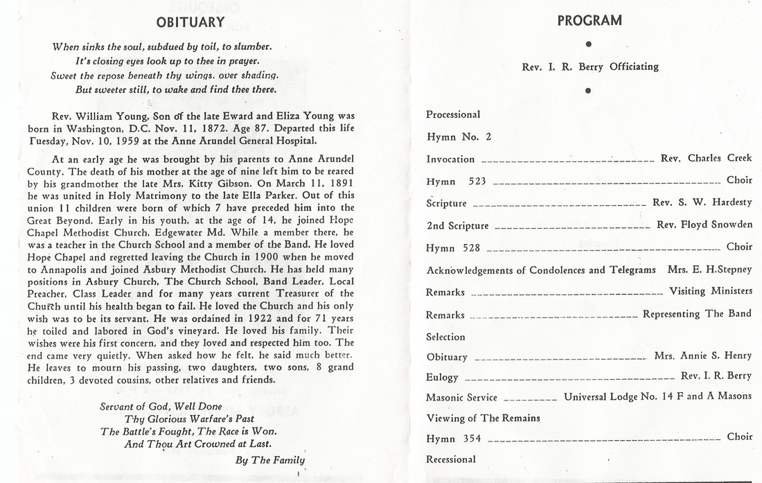 Funeral Program Exchange - Sharing Our Histories